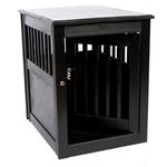 View Image 6 of End Table Dog Crate - Black