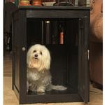 View Image 5 of End Table Dog Crate - Black