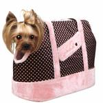 View Image 1 of Essence Dog Carrier by Pinkaholic - Pink