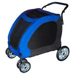 View Image 1 of Expedition Dog Stroller - Blue