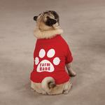 View Image 2 of Farm Hand Dog T-Shirt by Zack & Zoey - Red