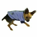 View Image 4 of Fido Fleece Stormy Circles Dog Coat