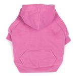 Fleece Lined Dog Hoodie by Zack & Zoey - Pink