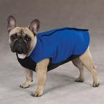 View Image 1 of Fleece Vests with Ripstop Chests - Blue