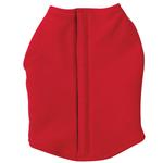 View Image 1 of Fleece Vests with Ripstop Chests - Red