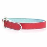 View Image 1 of FouFou Reversible Dog Collar - Blue/Red