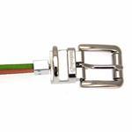 View Image 5 of FouFou Reversible Dog Collar - Green/Orange