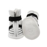 View Image 3 of FouFou Sidekicks Dog Shoes - Black