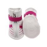 View Image 3 of FouFou Sidekicks Dog Shoes - Pink