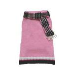 View Image 1 of Foxy Cashmere Scarf Sweater by Dogo - Pink