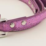 View Image 2 of Foxy Glitz Dog Leash - Lilac