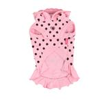 View Image 2 of Funky Pinky Dog Hoodie by Pinkaholic - Pink