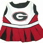 View Image 1 of Georgia Bulldogs Cheerleader Dog Dress