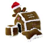 Gingerbread House Plush Puzzle Toy