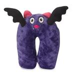 View Image 2 of GoDog Unimal with Chew Guard Dog Toy - Batty