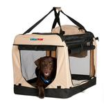 View Image 1 of Great Paw Lodge Soft Dog Crate