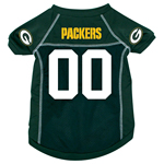 Green Bay Packers Dog Jersey