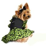 View Image 1 of Green Leaf Harness Dog Dress