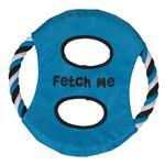 View Image 1 of Grriggles Fetch Me Flyer Dog Toy - Bluebird