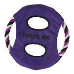 View Image 1 of Grriggles Fetch Me Flyer Dog Toy - Ultra Violet