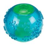 View Image 2 of Grriggles FUNdamentals Treat Ball Dog Toy - Bluebird
