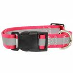View Image 2 of Guardian Gear Brite Reflective Dog Collar - Raspberry