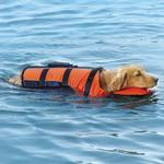 View Image 5 of Guardian Gear Deluxe Pillow Pet Life Preserver - Orange