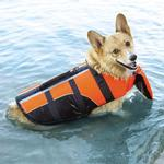 View Image 6 of Guardian Gear Deluxe Pillow Pet Life Preserver - Orange