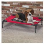 View Image 1 of Guardian Gear Pet Cot with Mesh Panels - Crimson