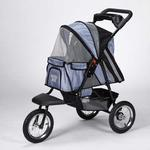 View Image 2 of Guardian Gear Sprinter EXT II Dog Stroller - Steel Blue