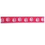 Guardian Gear Two Tone Pawprint Collar - Pink