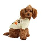 View Image 1 of Hallmark Hooded Dog Shirt by Puppia - Light Yellow