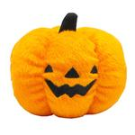 Halloween Plush Pumpkin Dog Toy