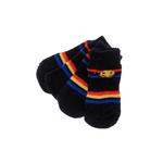 View Image 1 of Happy Stripes Soxy Paws Dog Socks