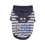 View Image 1 of Hardcore Dog Hoodie by Puppia - Navy