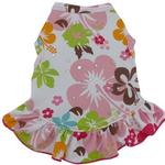View Image 1 of Hawaiian Hibiscus Dog Dress