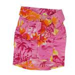 View Image 2 of Hawaiian Print Dog Shirt - Pink