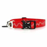 View Image 2 of Headwater Dog Collar by RuffWear - Red Currant