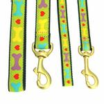 View Image 2 of Heart and Bone Dog Leash by Up Country