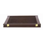 View Image 4 of Highlander Free Standing Walk-Through Dog Gate - Mahogany