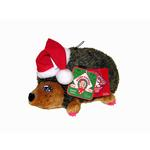 View Image 1 of Holiday Hedgehog Girl Dog Toy