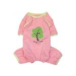 'Hug A Tree' Eco-Friendly Dog Pajamas by Klippo - Pink