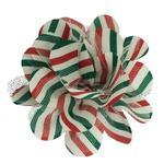 Huxley & Kent Dog Flower Collar Attachment - Mint Stripe