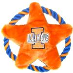 View Image 1 of Illinois Fighting Illini Rope Disc Dog Toy