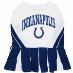 Indianapolis Colts Cheerleader Dog Dress