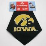 View Image 1 of Iowa Hawkeyes Dog Bandana