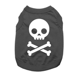 Jolly Roger Dog Shirt - Black