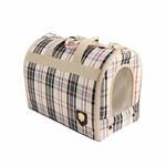 View Image 2 of Junior Cage Dog Carrier by Puppia - Beige