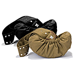View Image 1 of Just Hangin' Messenger Style Sling Pet Carrier - Khaki