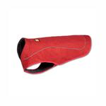 View Image 1 of K-9 Overcoat Utility Dog Jacket by RuffWear - Red Currant
